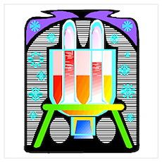 lab equipment Poster