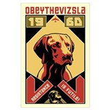 Vizsla Framed Prints