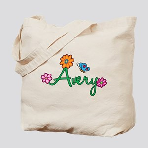 Avery Flowers Tote Bag