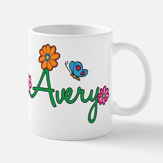 Avery Flowers Mug