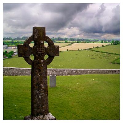 Celtic Cross I Poster