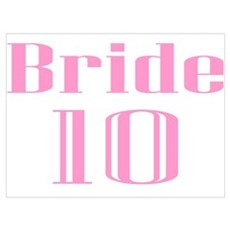 Bride 10 Poster