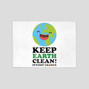 Keep Earth Clean 5'x7'Area Rug