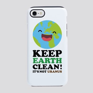 Keep Earth Clean iPhone 7 Tough Case