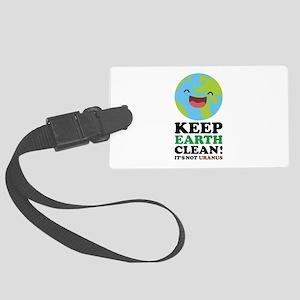 Keep Earth Clean Large Luggage Tag