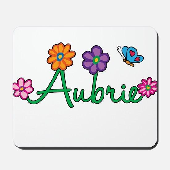 Aubrie Flowers Mousepad