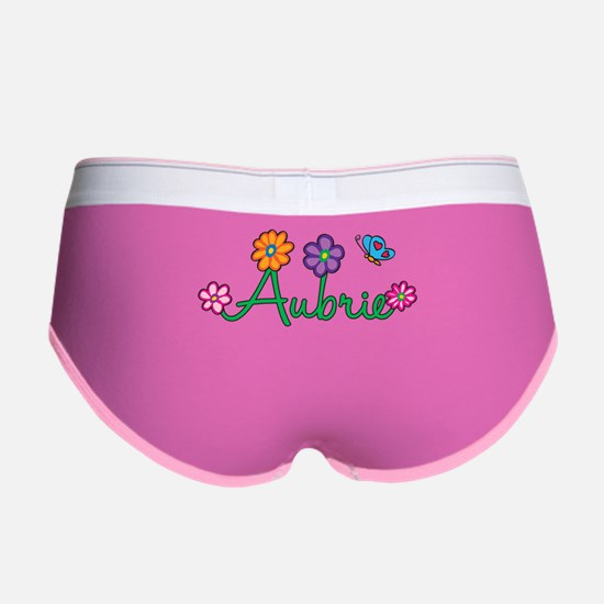 Aubrie Flowers Women's Boy Brief