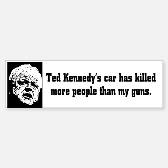 Ted Kennedy Bumper Bumper Bumper Sticker
