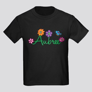Aubree Flowers Kids Dark T-Shirt