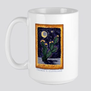 Tex Van Gogh Art Large Mug