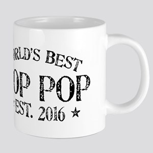World's Best Pop Pop Est 2016 20 oz Ceramic Mega M