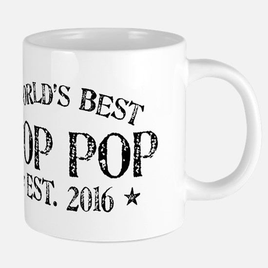 World's Best Pop Pop Est 2016 20 oz Ceramic Mega M