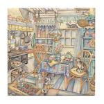 Kim Jacobs Cottage Kitchen Tile Coaster