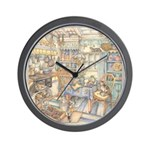 Kim Jacobs Cottage Kitchen Wall Clock