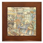Kim Jacobs Cottage Kitchen Framed Tile