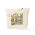 Kim Jacobs Cottage Kitchen Tote Bag