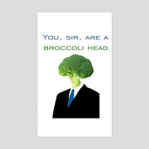 Broccoli Head Sticker