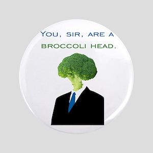 """Broccoli Head 3.5"""" Button"""