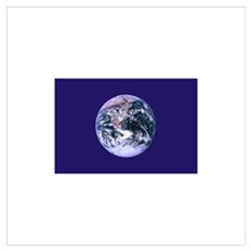 Earth Day Flag Poster