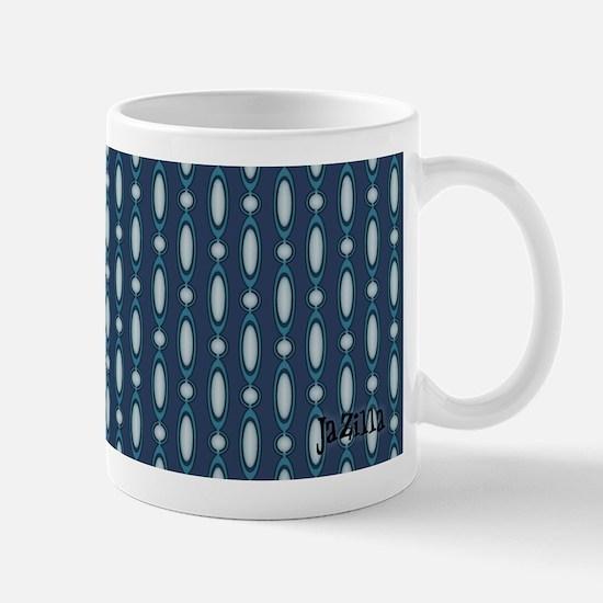 Teal 70s Beaded Curtain Mug