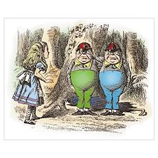 Tweedledum and Tweedledee Poster
