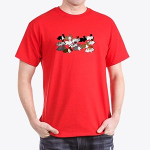 Many Bunnies Dark T-Shirt