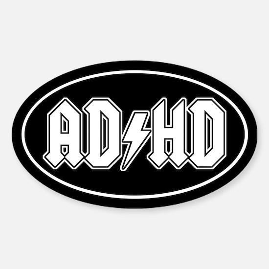 AD/HD Sticker (Oval)