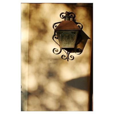 Scroll Lamp 11x17 Poster