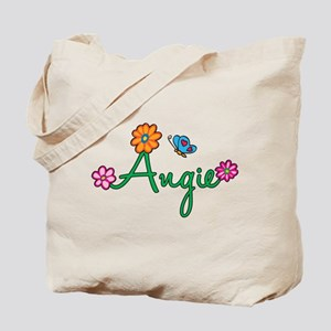 Angie Flowers Tote Bag
