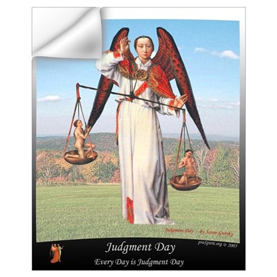 Judgment Day -3- 16x20 Wall Decal