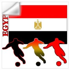 Egypt Soccer Wall Decal