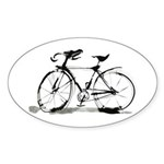 Bicycle Sticker (Oval 10 pk)