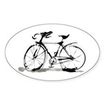 Bicycle Sticker (Oval)