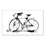Bicycle Sticker (Rectangle)