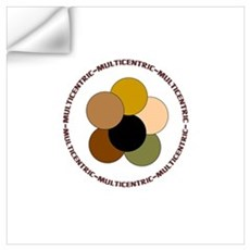 Multicentric/ Multiracial Pride Wall Decal