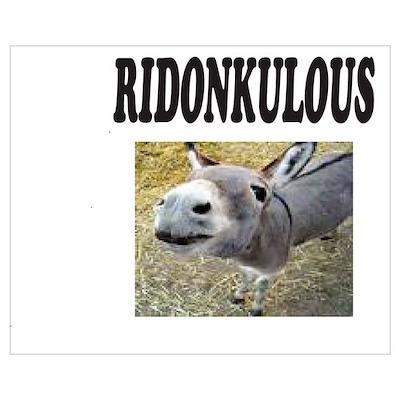 Ridonkulous Poster