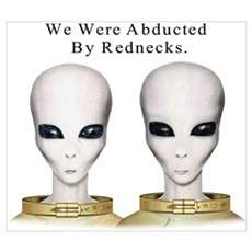 Alien Abduction Canvas Art