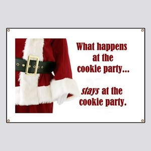 What Happens at the Cookie Party Banner