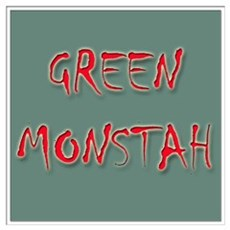 Green Monstah Poster