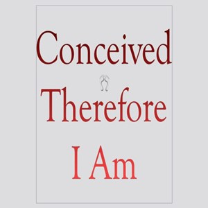 Conceived, Therefore, I Am...