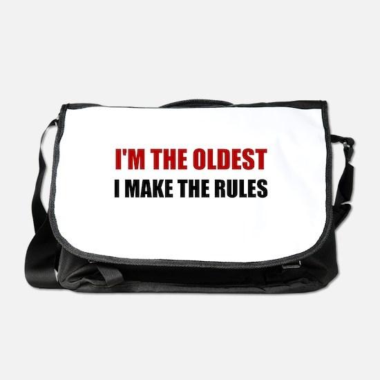 Oldest Make The Rules Messenger Bag