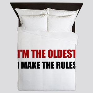 Oldest Make The Rules Queen Duvet