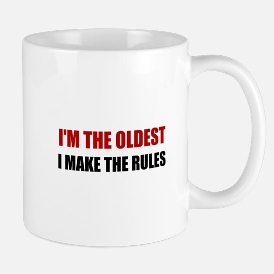 Oldest Make The Rules Mugs
