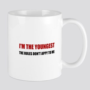 Youngest Rules Don't Apply Mugs