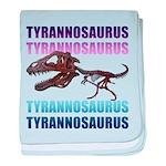 Tyrannosaurus baby blanket