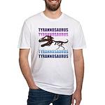 Tyrannosaurus Fitted T-Shirt