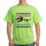 Tyrannosaurus Green T-Shirt