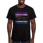 Tyrannosaurus Men's Fitted T-Shirt (dark)