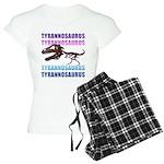 Tyrannosaurus Women's Light Pajamas