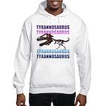 Tyrannosaurus Hooded Sweatshirt